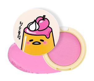 Gudetama Jelly Dough Blusher PK01 (Цвет PK01 variant_hex_name e893bd)