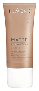 Matte Foundation Oil-Free 2 (Цвет 2 Soft Honey variant_hex_name D1BCA9)