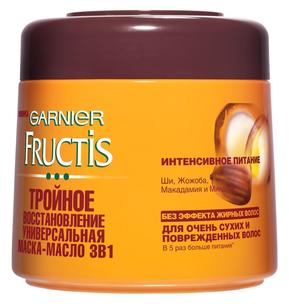 Fructis. Масло-маска 3 в 1 Тройное Восстановление