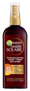Ambre Solaire. Солнцезащитное масло-спрей SPF15