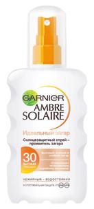 Ambre Solaire. Солнцезащитный спрей Идеальный загар SPF30