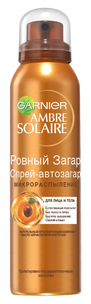 """Ambre Solaire. Спрей-автозагар """"Ровный загар"""""""