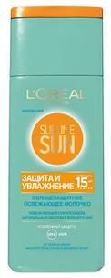 Sublime Sun. Молочко для лица и тела Защита и Увлажнение SPF15 (Объем 200 мл)