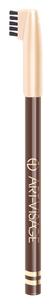 Карандаш для бровей 407 (Цвет 407 Темно-коричневый variant_hex_name 5C4942)