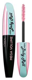 Mega Volume Miss Baby Roll Mascara (Цвет 01 Black variant_hex_name 000000)