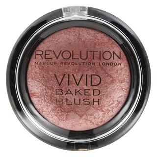 Румяна Makeup Revolution Baked Blushers Make Love Instead (Цвет Make Love Instead variant_hex_name A66E68)