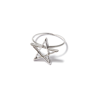 Кольца SKYE Кольцо Звезда 17 (Размер 17)