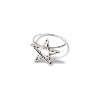 Кольца SKYE Кольцо Звезда 17 (Размер 17) кольцо skye skye кольцо