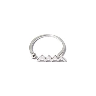 Кольца SKYE Незамкнутое кольцо Зигзаг кольца skye кольцо с белым треугольником размер 0