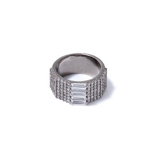 Кольца Herald Percy Кольцо с прямоугольными кристаллами 16 (Размер 16)