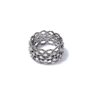 Кольца Herald Percy Кружевное кольцо с кристаллами 16 (Размер 16)