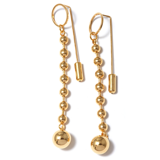 Серьги Herald Percy Серьги с золотыми шарами herald percy колье с цирконами
