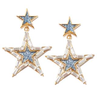 Серьги Herald Percy Золотистые серьги-звезды серьги herald percy черно золотистые серьги кольца