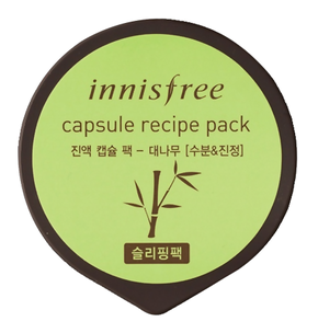 Ночная маска - Capsule Recipe Pack Bamboo Sleeping Pack