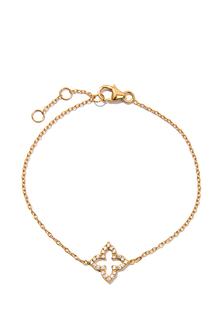 Браслеты Exclaim Легкий браслет-цепочка из серебра