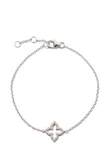 Браслеты Exclaim Легкий браслет-цепочка с цирконами алмазной огранки exclaim браслет цепочка с бусинами