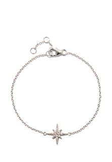 Браслеты Exclaim Тонкий браслет-цепочка с подвеской в форме звезды exclaim браслет цепочка с бусинами