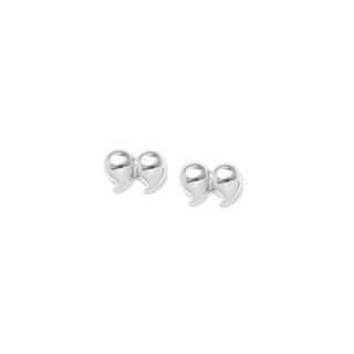Серьги Expression Jewelry Малые серебряные серьги-пусеты Кавычки малые диваны в спб
