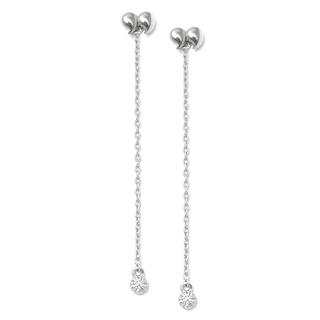 цена на Серьги Expression Jewelry Серебряные серьги Кавычки с круглыми подвесками