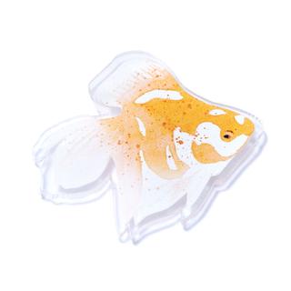 Броши Hi!Hi! Goodbye! Брошь Золотая рыбка