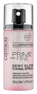 Фиксатор макияжа - Prime And Fine Dewy Glow Fixing Spray