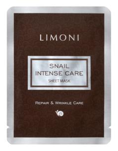 Snail Intense Care Sheet Mask (Объем 18 г) 18 мл