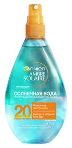 "Ambre Solaire. Солнцезащитный спрей ""Солнечная вода"" SPF20"
