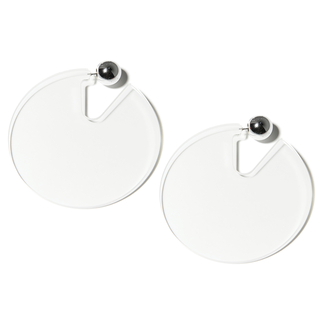 Серьги Aloud Прозрачные серьги-диски диски литые тайота каролла