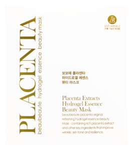 Гидрогелевая маска - Placenta Extracts Hydrogel Essence Beauty Mask