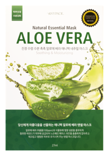 Тканевая маска - Aloe Vera Natural Essential Mask