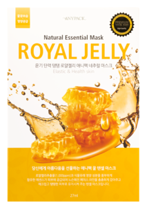 Тканевая маска - Royal Jelly Natural Essential Mask