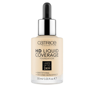 Тональная основа - HD Liquid Coverage Foundation