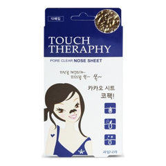 Патчи для носа - Touch Therapy Cacao Pore Clear Nose Sheet Pack