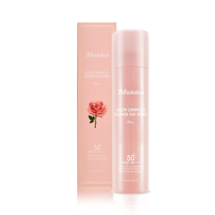 Спрей - Glow Luminous Flower Sun Spray Rose SPF50+
