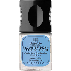 Лак для ногтей - Pro White French Nail Effect Polish