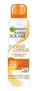 Спрей солнцезащитный сухой SPF 20