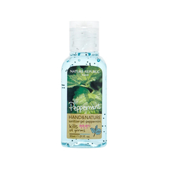 Руки / Ноги - Hand and Nature Sanitizer Gel Peppermint