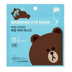 Маска для глаз - Friends Line Warming Eye Mask