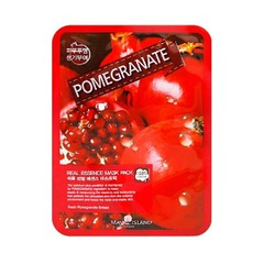 Тканевая маска - Real Essence Mask Pack Pomegranate
