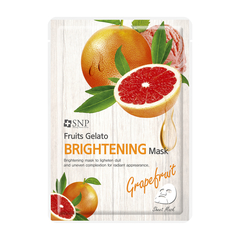 Тканевая маска - Fruits Gelato Brightening Mask Grapefruit