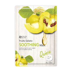 Тканевая маска - Fruits Gelato Soothing Mask Quince