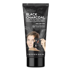 Маска - Yeppen Skin Black Charcoal Deep Purifying Mask-Peel-Off Type