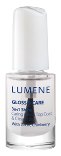 Базы - Gloss & Care 3-in-1 Shine Caring Base & Top Coat