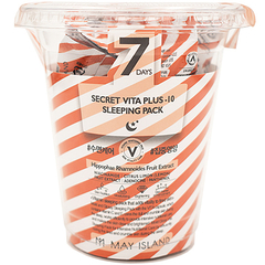 Ночной уход - 7 Days Secret Vita Plus-10 Sleeping Mask Pack