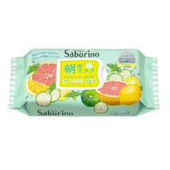 Влажные салфетки - Saborino Morning Mask Minty Grapefruit