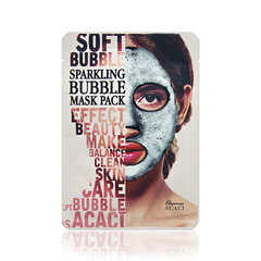 Маска - Acaci Soft Bubble Sparkling Mask Pack