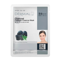 Тканевая маска - Charcoal Collagen Essence Mask