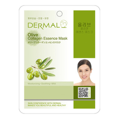 Тканевая маска - Olive Collagen Essence Mask