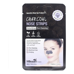 Патчи для носа - Charcoal Nose Strips
