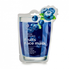 Маска - Fruits Face Mask Blueberry